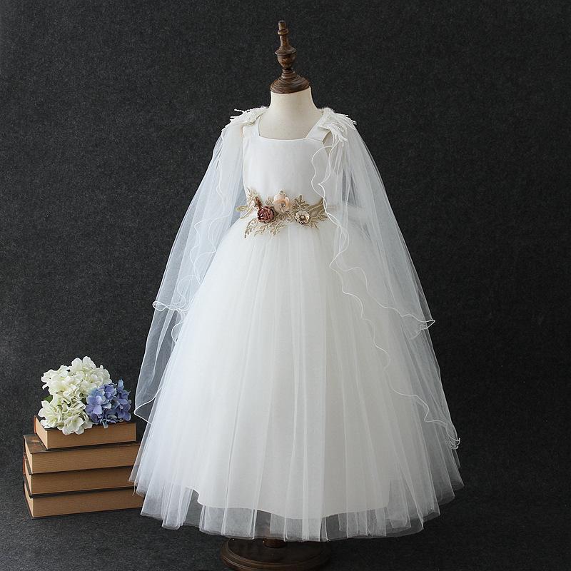 Đầm công chúa phụ dâu cho bé