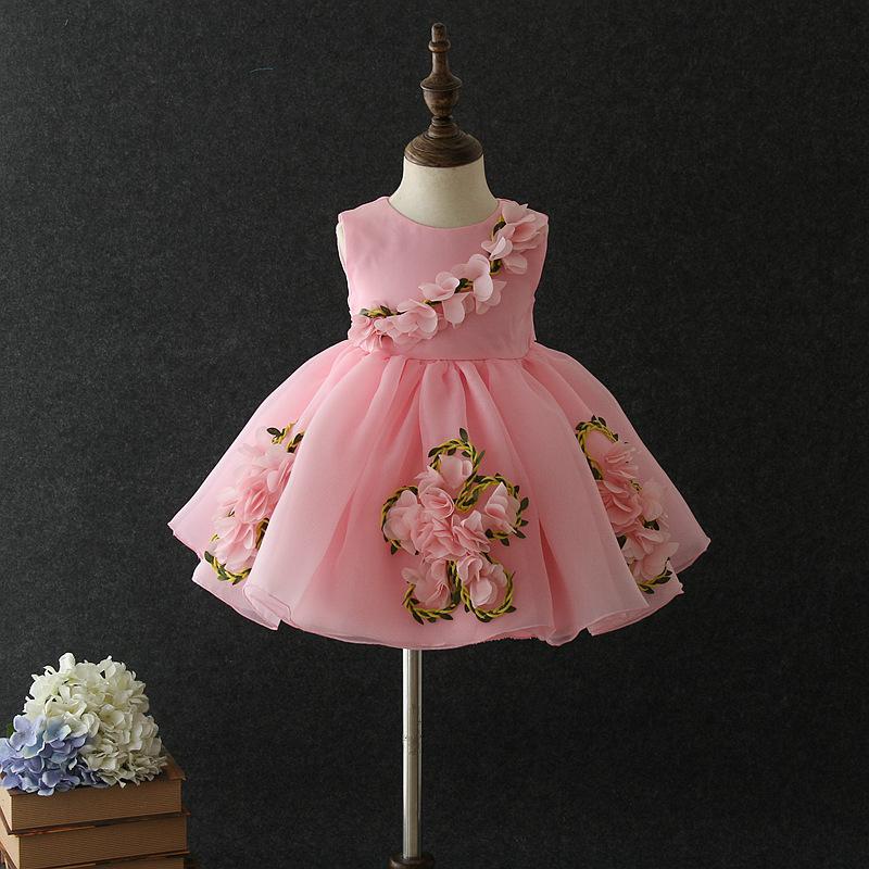 Đầm công chúa mùa xuân cho bé