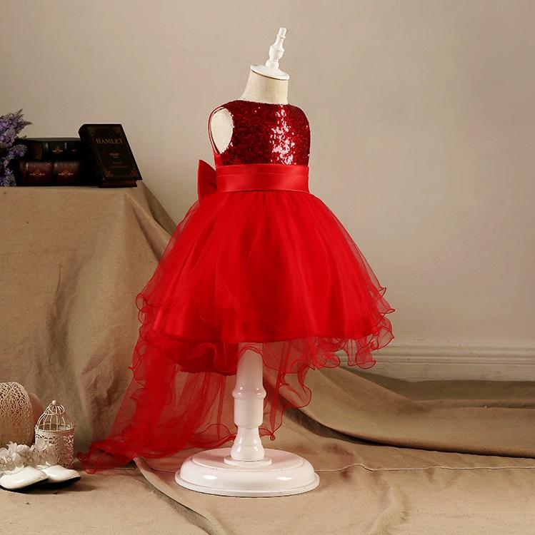 Đầm công chúa kim sa cho bé