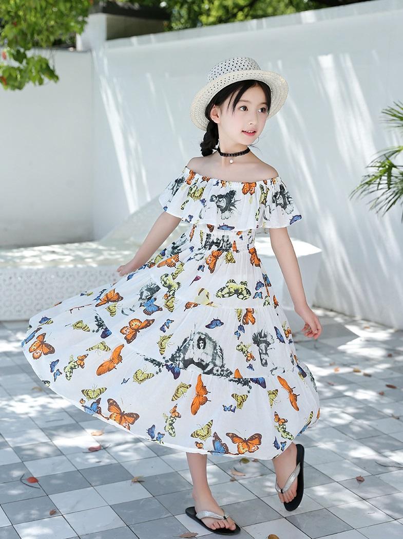 Váy maxi cho bé
